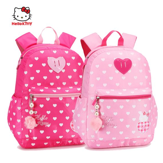 Hello Kitty - Large Size Senior Backpack / Tuition Bag