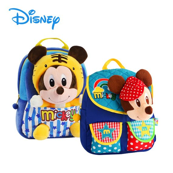 DISNEY MICKEY / MINNIE - 3D Soft Toys Kids Bag