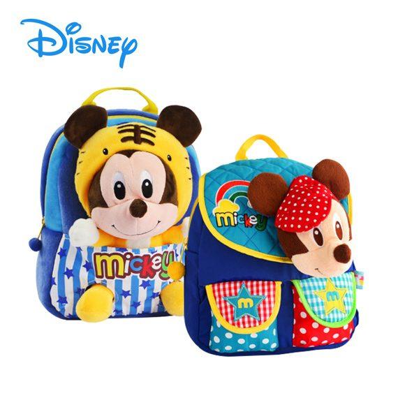 DISNEY MICKEY / MINNIE - 3D Soft Toys Kids Bag