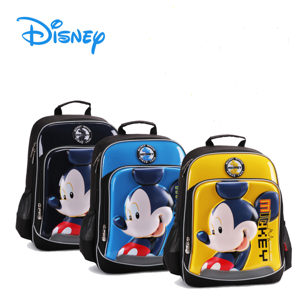 DISNEY MICKEY   MINNIE (3D HARD SHELL) - HIGH QUALITY School Bags   Backpack 264825711204