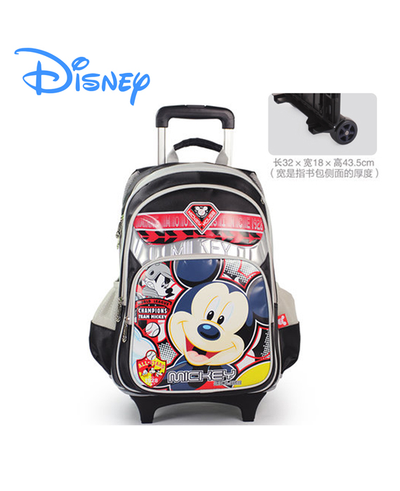 DISNEY MICKEY - 2 Wheels Trolley School Bags
