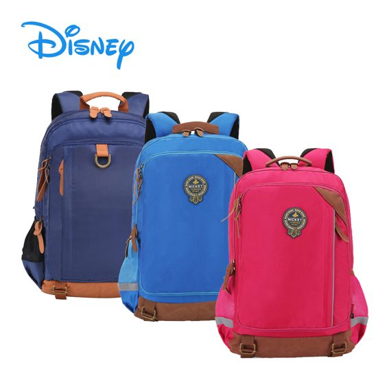 DISNEY MICKEY - High Primary Korean Style Backpack / Shoulder Bag