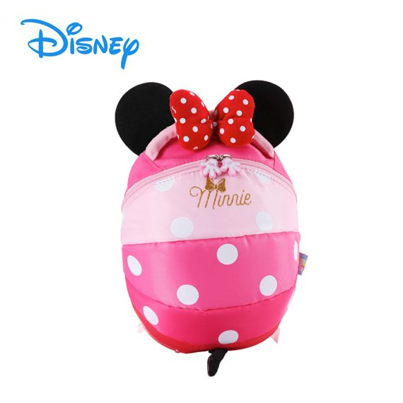 DISNEY MICKEY / MINNIE - Mickey / Minnie Head Safety Harness Backpack