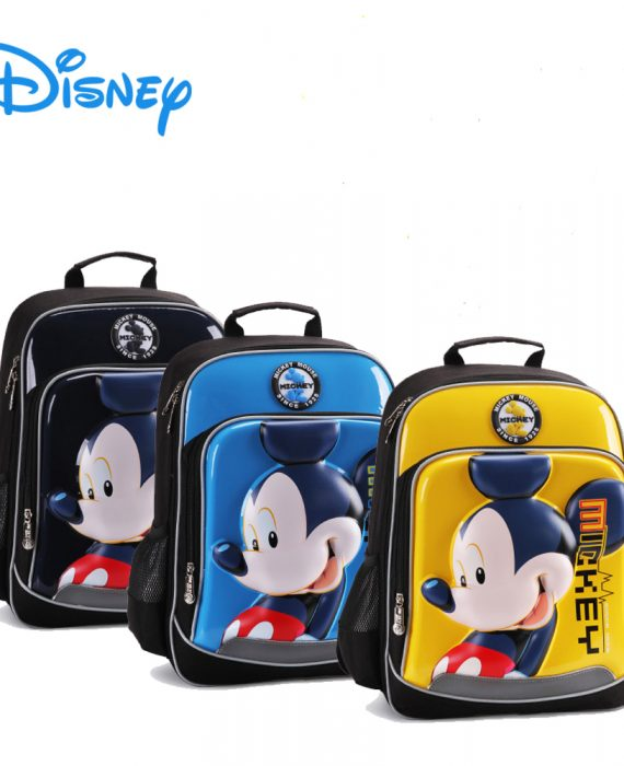DISNEY MICKEY / MINNIE (3D HARD SHELL) - HIGH QUALITY School Bags / Backpack (Primary 1-4)