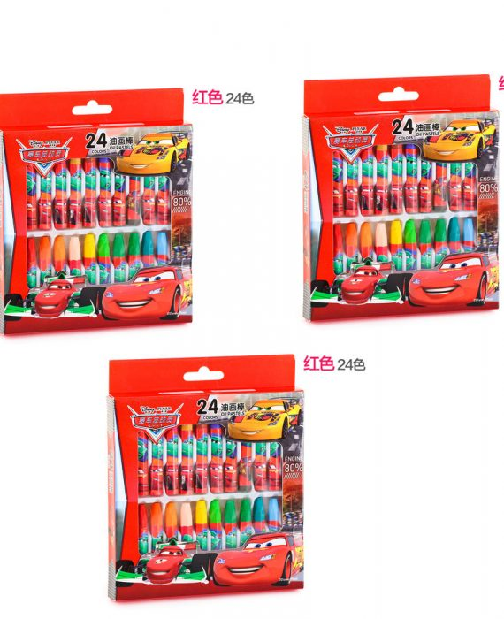 DISNEY CAR CRAYON (BUY 2 FREE 1)