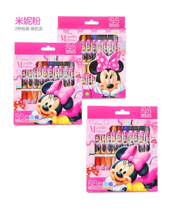 DISNEY MINNIE CRAYON (BUY 2 FREE 1)